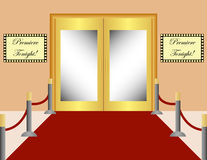 Red Carpet Background Royalty Free Stock Image