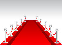 Red carpet background Royalty Free Stock Photography