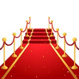 On the red carpet Stock Images