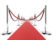 Red carpet barrier Stock Photos