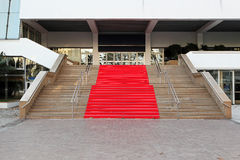 Red carpet Cannes Royalty Free Stock Image