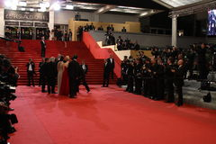 Red carpet Cannes Royalty Free Stock Images