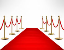 Red Carpet Celebrities Formal Event Banner Stock Photos