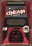 Red Carpet Cinema Poster Stock Images