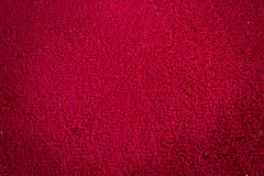 Red carpet. Or doormat Texture Royalty Free Stock Photography