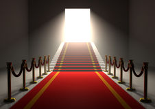 Red Carpet Entrance royalty free illustration