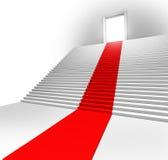 Red Carpet Entrance vector illustration