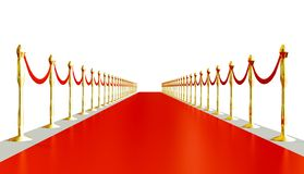 Red carpet. stock photography