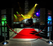 Red carpet event Royalty Free Stock Image