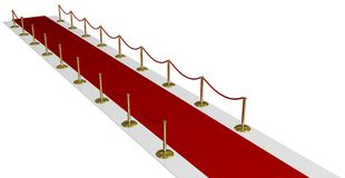 Red Carpet of Fame Royalty Free Stock Photo