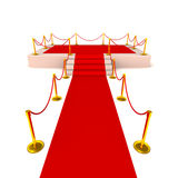 Red carpet glory Stock Photography