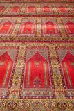 Prayer rug in a mosque Stock Photography