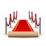 Red Carpet  illustration Stock Photos