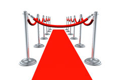 Red Carpet No Entry Stock Photos