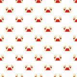 Red carpet pattern, cartoon style Royalty Free Stock Photo