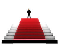 Red Carpet pedestal Stock Photography