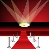 Red carpet premier/eps royalty free stock photos