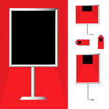 Red Carpet Sale Stock Image