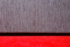 Red carpet and sofa Royalty Free Stock Images
