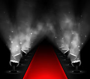 Red carpet vector illustration