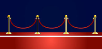 Red carpet vector Stock Photos