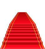 Red carpet vector illustration Royalty Free Stock Photos