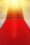 On Red Carpet Vip and Celebrities Concept Royalty Free Stock Photos