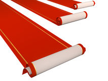Red carpets Stock Image