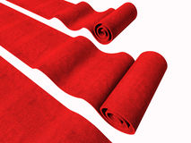 Red carpets background Royalty Free Stock Image