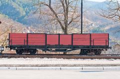 Red carriage Royalty Free Stock Images