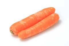 The red carrot. Healthy food. The red carrot Stock Photo