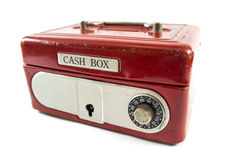 Red cash box Royalty Free Stock Photo