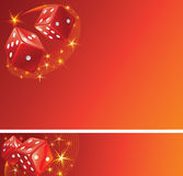 Red casino background Stock Photo