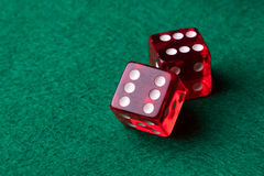 Free Red Casino Dices Royalty Free Stock Photo - 51067805