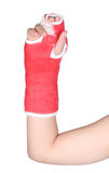 Red cast Stock Photo