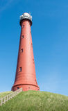 Red cast iron Lighthouse Royalty Free Stock Photography