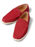 Red Casual Shoes Stock Photo