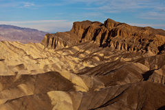 Red Cathedral from Zabriskie Point Royalty Free Stock Images