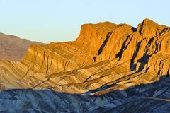 Red Cathedral at Zabriskie Point Stock Photography