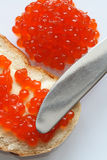 Red Caviar Royalty Free Stock Photos