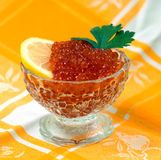 Red caviar Royalty Free Stock Image
