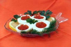 Red caviar Stock Photo