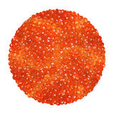 Red caviar royalty free stock photography