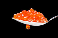 Red caviar Stock Image