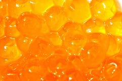 Red caviar background Stock Photo