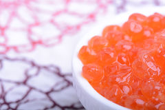 Red caviar close up Royalty Free Stock Photography