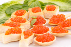 Red caviar Royalty Free Stock Photo