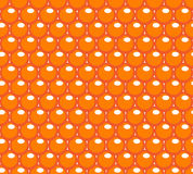 Red caviar seamless pattern. Roe endless background, texture, wallpaper. Vector illustration. Stock Photos