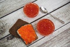 Red caviar Stock Image