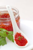 Red caviar Stock Photo